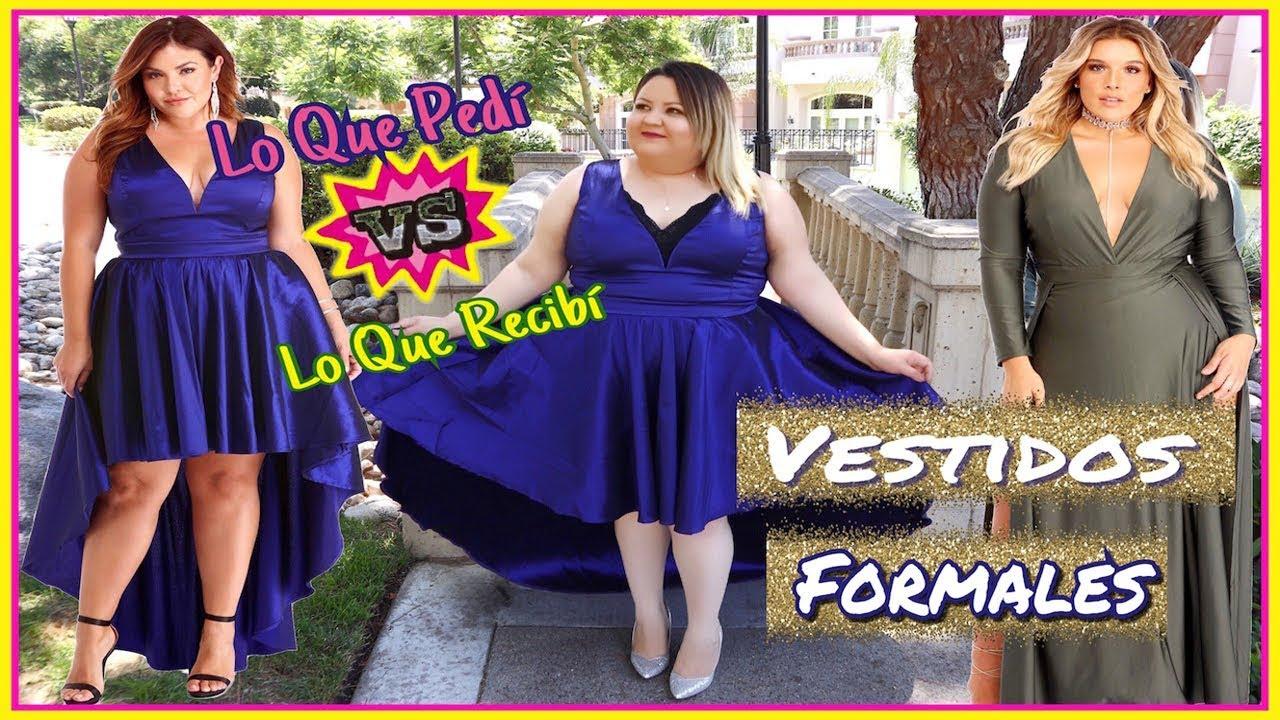 Lo Que Pedí vs Lo Que Recibí: Vestidos Formales Para Fiesta de ...