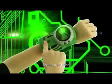 Часы Ультиматрикс дисковые звуковые Ben10 Bandai (Бандай)