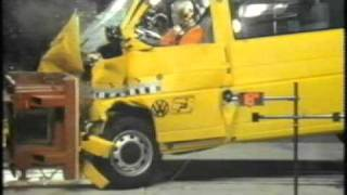 1994 VW Transporter T4 safety.mpg(1994 VW Transporter T4 safety movie , audio Dutch . Nice movie you must see :o), 2012-01-23T20:04:38.000Z)
