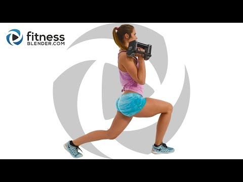 Brutal At Home Butt and Thigh Workout for Fat Burning and Lean Muscle Building