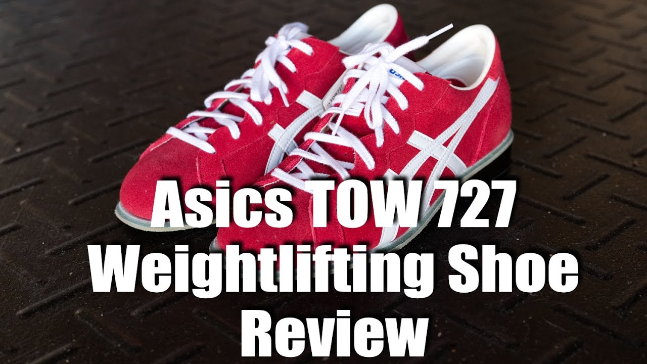 fd2cc0ad7025 Asics TOW 727 Weightlifting Shoe Review w  Comparisons - YouTube
