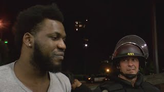 Minneapolis Protesters Bond With Arresting Officers