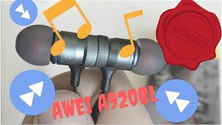 aWEI A920bl - The best Bluetooth stereo headset for less than 15 USD