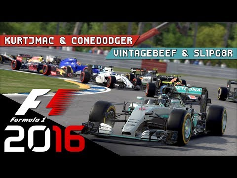 F1 2016 - BAKU Qualifying - Shark Fin Buildings