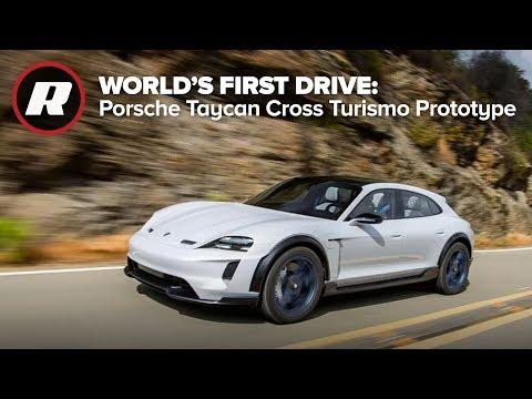 Porsche Taycan Cross Turismo Prototype : World's first drive