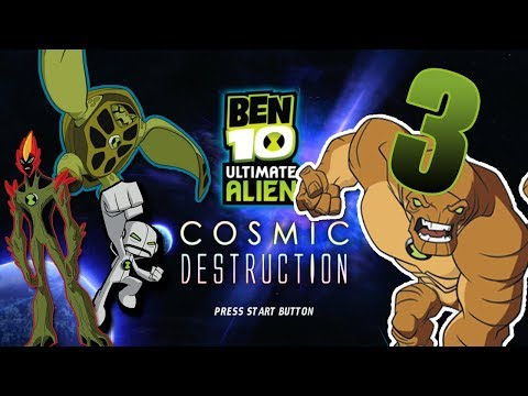 Ben 10 Ultimate Alien Cosmic Destruction EP 3: The Sword Guy and the Pushy Stones