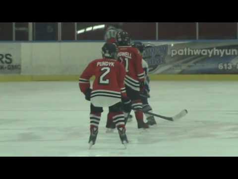 Minor Atom Hockey - Ottawa Sting vs Cumberland Grads (Nov 30, 2016)