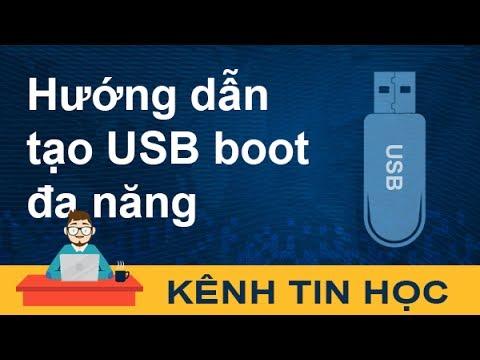Hướng dẫn tạo USB Boot đa năng (Multiboot) Win 7/8/10 và Hiren's Boot