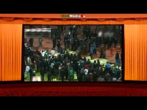 Football War Egypt Football Stadium Riot (Cairo) 74 People Dead Wednesday 1st February 2012
