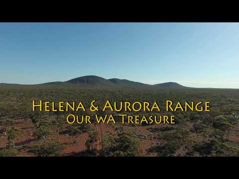 Helena and Aurora Range our WA Treasure - a drone perspective