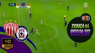 #LIGAMX #J6 ~ Necaxa (1-1) Cruz Azul ~ Torneo Apertura 2017 (RESUMEN COMPLETO) ᴴᴰ