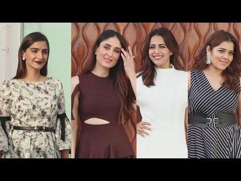 Kareena, Sonam, Swara, Shikha At Veere Di Wedding Promotion