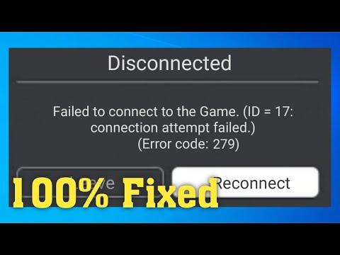 Id 17 Error Code 279 Roblox