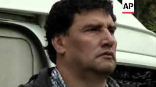 Police announce they have arrested senior FARC figure Victor Silva Soto