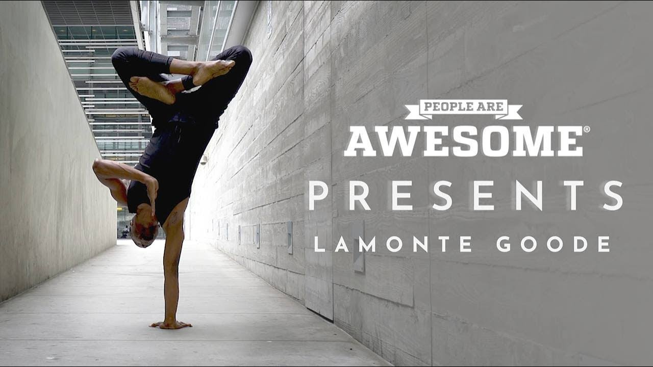 People Are Awesome Presents: Lamonte Goode | Cyber Yoga
