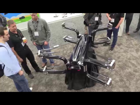 Griff Aviation's Giant Heavy Lift Drone