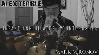 Скачать Infant Annihilator CUNTCRUSHER COVER By SATANICMOTHERFUCKER Feat Mark Mironov On Drums