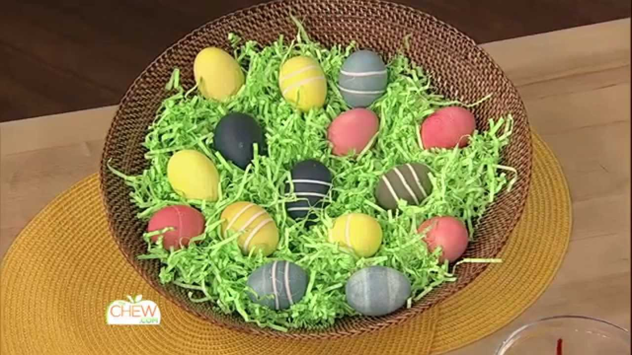 Create Natural Easter Egg Dye - The Chew