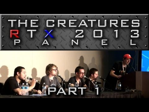 "The Creatures Panel - Part 1 ""Trapville, Introductions, and Ze's Short"" (RTX 2013)"