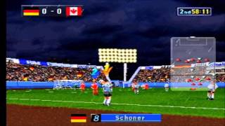 Worldwide Soccer 97 Germany vs Canada