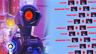 NEW *UNREAL* HEADSHOT CHALLENGE Mode - Overwatch Workshop Funny Moments & Fails #23