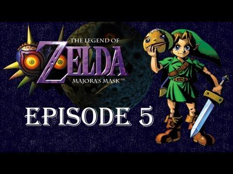 The legend of Zelda Majora's Mask 5 (Le palais Mojo)