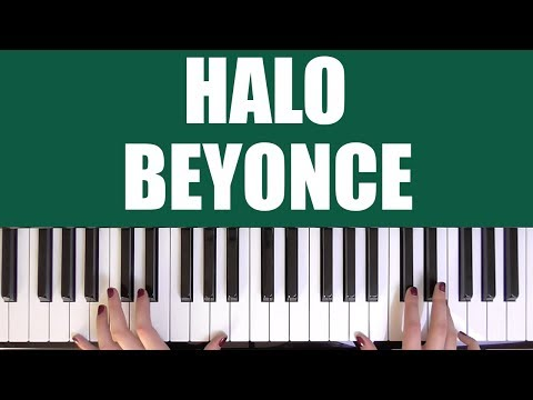 HOW TO PLAY: HALO - BEYONCE