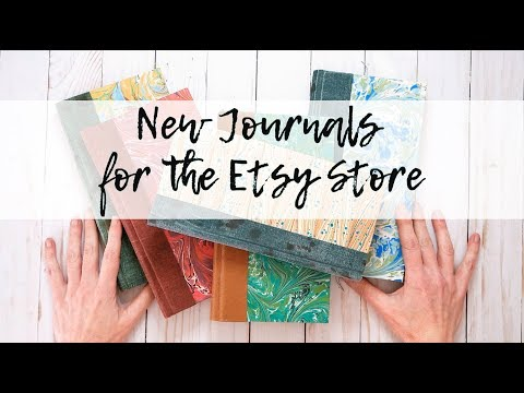 New Journals for the Etsy Store (Sold)