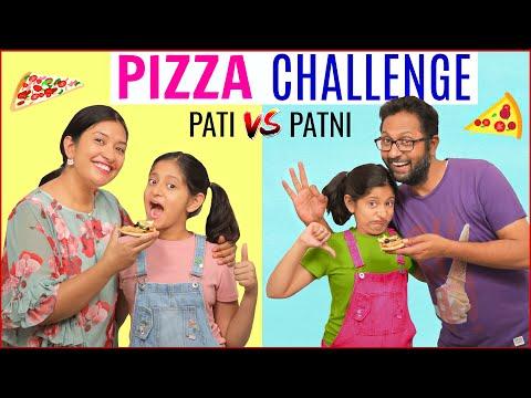 Pizza Challenge PATI vs PATNI | CookWithNisha