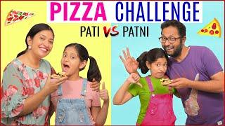 Pizza Challenge - PATI vs PATNI | CookWithNisha