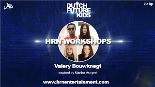 VALERY BOUWKNEGT (Groups)   Konshens - Turn Up   Dutch Future Kids