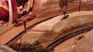 N Scale Coffee Table Train Layout
