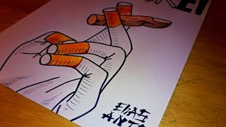 Drawing No Smoking !