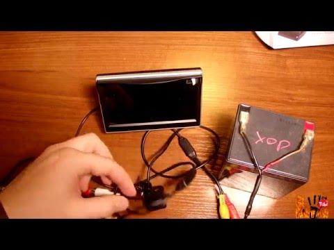 Монитор 5 дюймов для камеры заднего вида 800х480