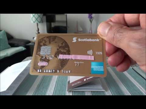 Honest & Non-Affiliated | The ScotiaBank Gold American Express Credit Card Unboxing & Brief Review