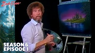 Bob Ross  Blue River - The Joy of Painting (Season 6 Episode 1)