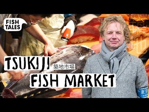 Visiting The Old TSUKIJI FISH MARKET Tour | Bart Van Olphen