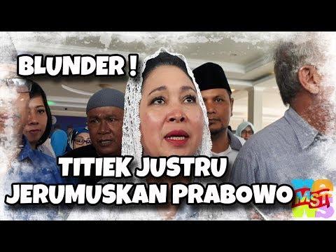 Blunder! Ingin Bela, Titiek Justru Menje (rumus) kan Prabowo