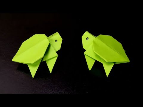 Origami Turtle – How to make a Paper Turtle