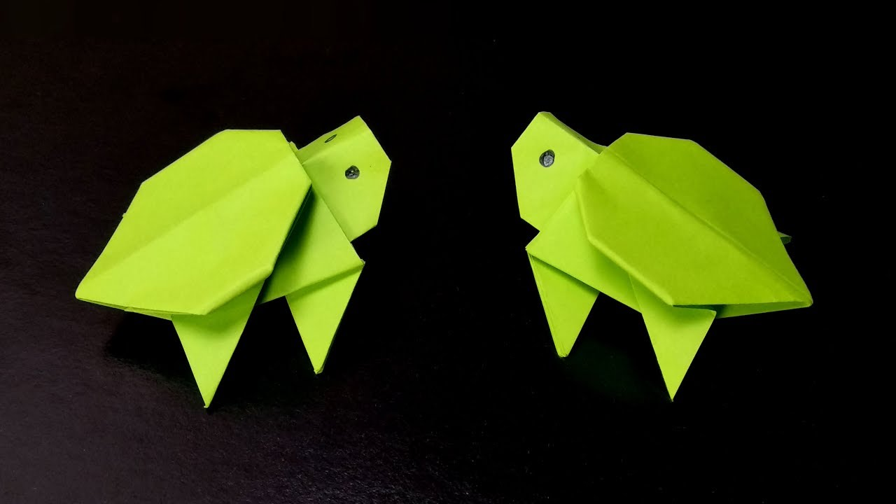 Origami Turtle step by step - YouTube | origami chika | Origami ... | 720x1280