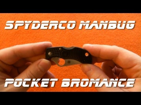 Knife Review -- Spyderco Manbug -- Pocket Bromance!