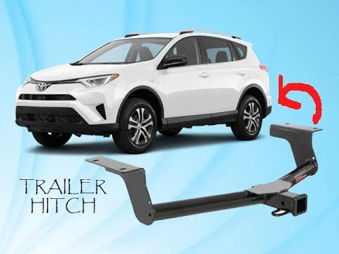 Installing A Trailer Tow Hitch On My 20172018 Toyota Rav4 YouTube - Install Trailer Hitch Rav4