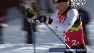 Incredible Sportsmanship In The Cross Country Skiing - Torino 2006 Winter Olympics