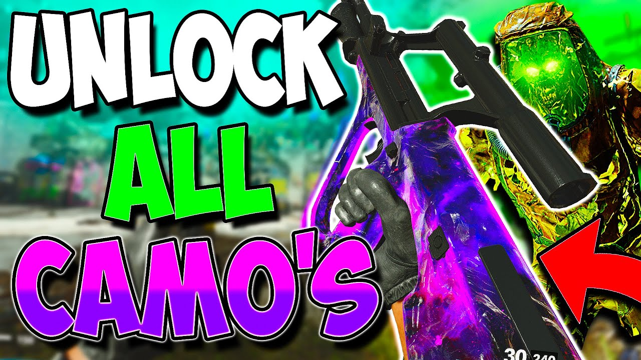 """Cold War Zombie Glitches: UNLOCK ALL CAMOS!! """"God Mode Unlimited XP Spot!"""""""