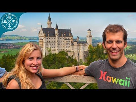Visiting Neuschwanstein Castle in Germany - Worldtrip 2014-15