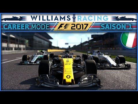 F1 2017 Mode Carrière [FR] PART 13 - CHAOS EN ITALIE