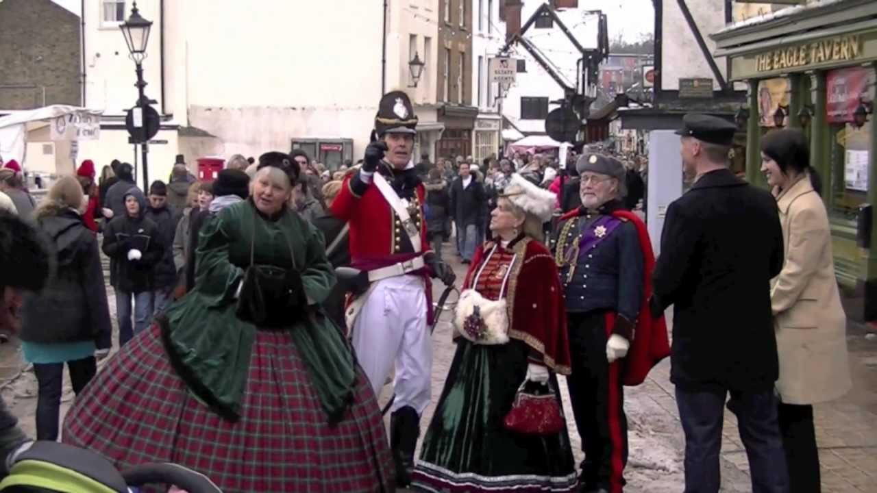 rochester dickens christmas festival in the snow youtube - Dickens Christmas Festival