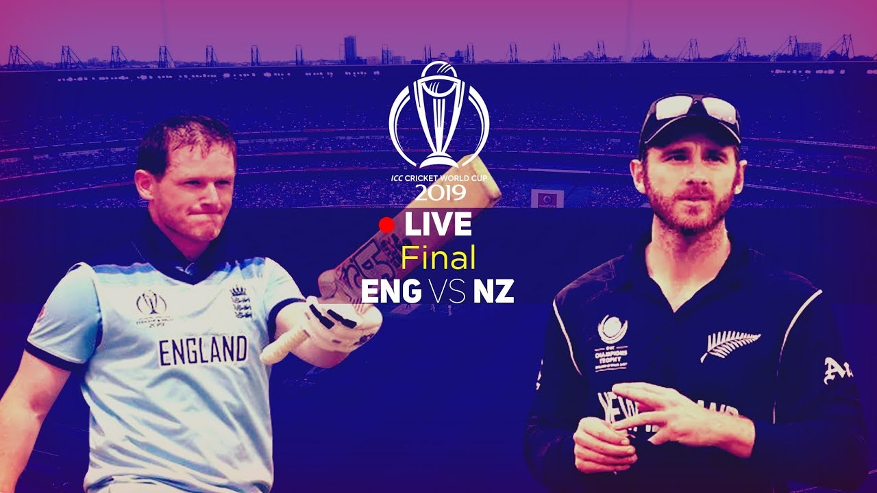 New Zealand v England: Cricket World Cup final 2019  live!