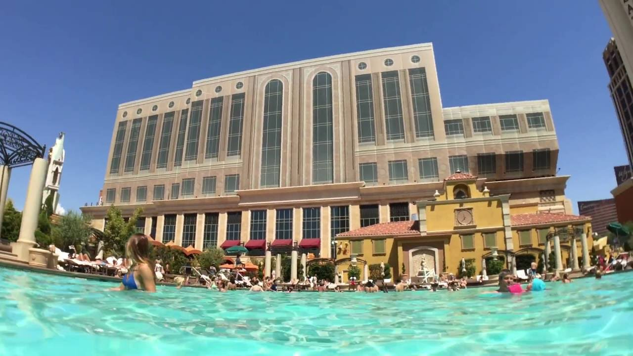 The Venetian Pool Las Vegas Youtube