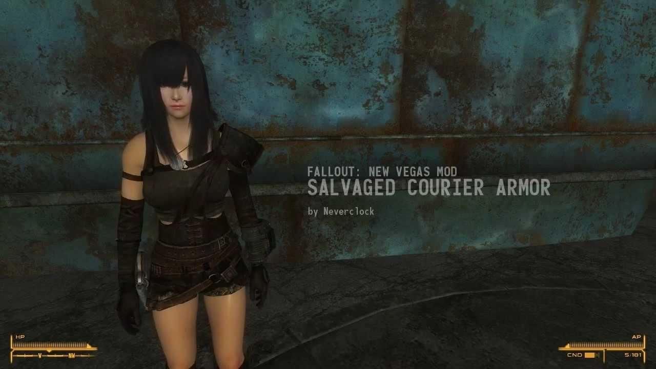 fallout new vegas signature armor mod